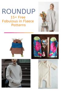 FREE PATTERN ALERT: 15+ Free Fabulous in Fleece Patterns