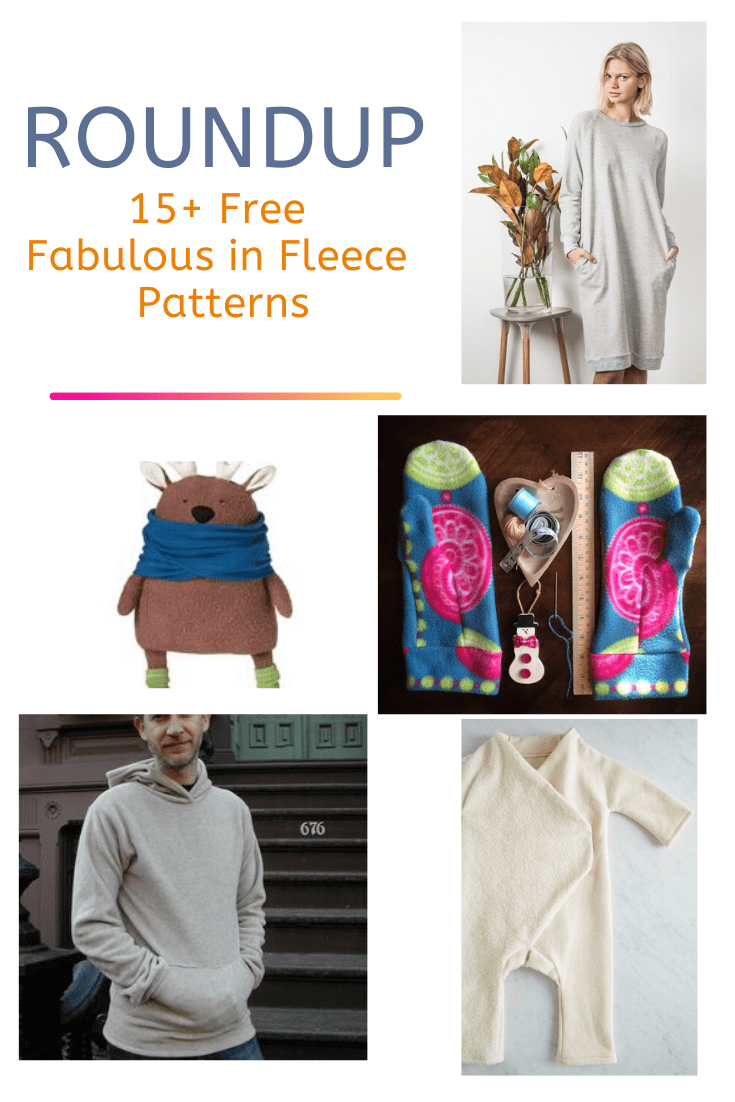 FREE PATTERN ALERT: 15+ Free Fabulous in Fleece Patterns