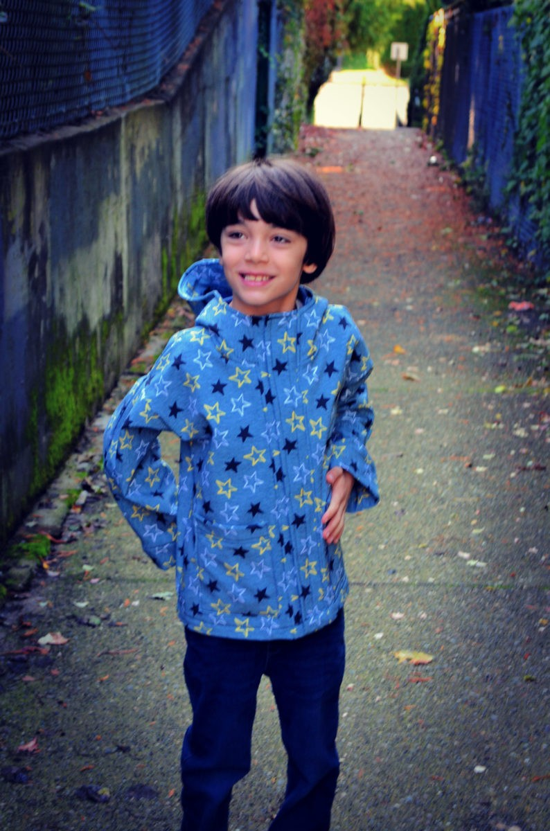NEW PATTERN FOR SALE: The Maxwell Kids Raincoat