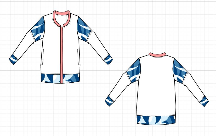 NEW PATTERN FOR SALE: The Inara Bomber Jacket