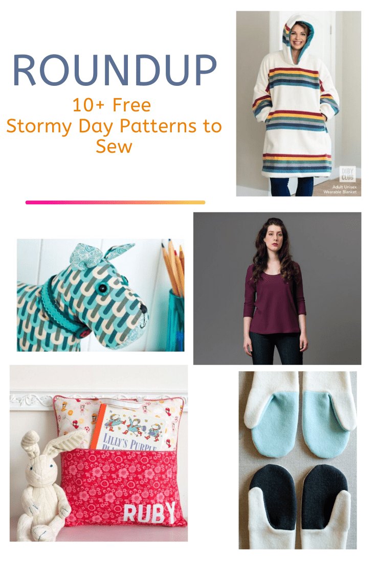 FREE PATTERN ALERT: 10+ Free Stormy Day Patterns to Sew