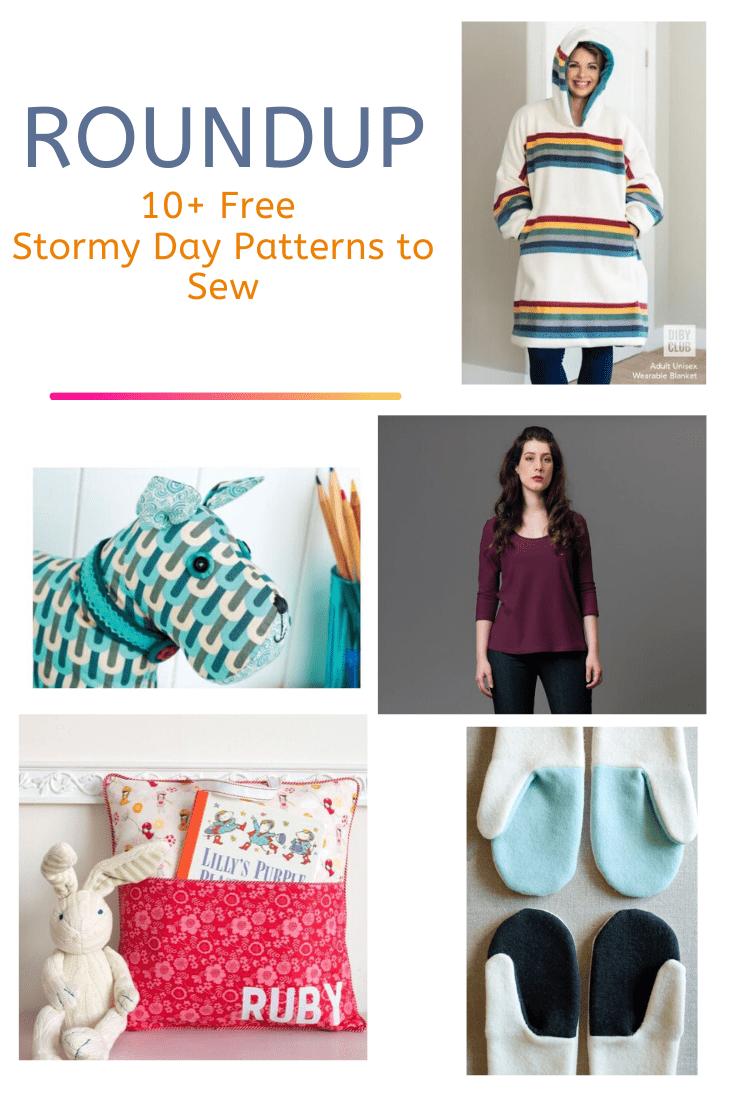 FREE PATTERN ALERT: 10+ Free Stormy Day Patterns to Sew