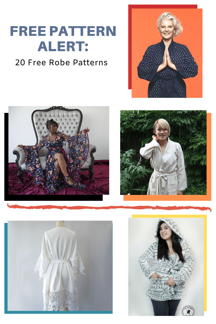 Free Pattern Alert 20 Free Robe Patterns On The Cutting Floor Printable Pdf Sewing Patterns And Tutorials For Women